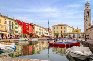 Lazise, Gardameer, Italië